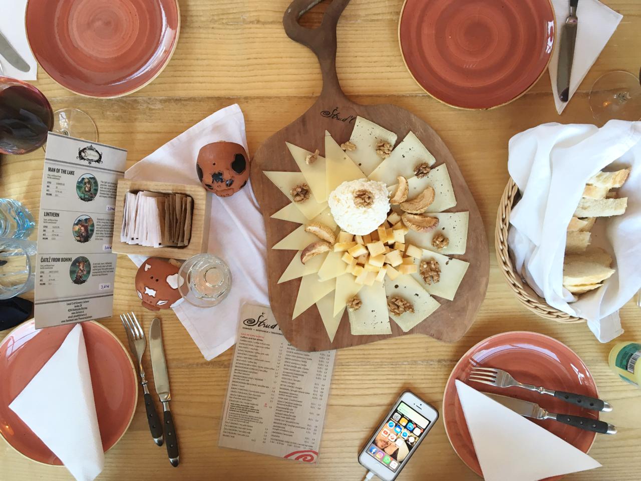 mangiare Lago di Bled - Strud'l