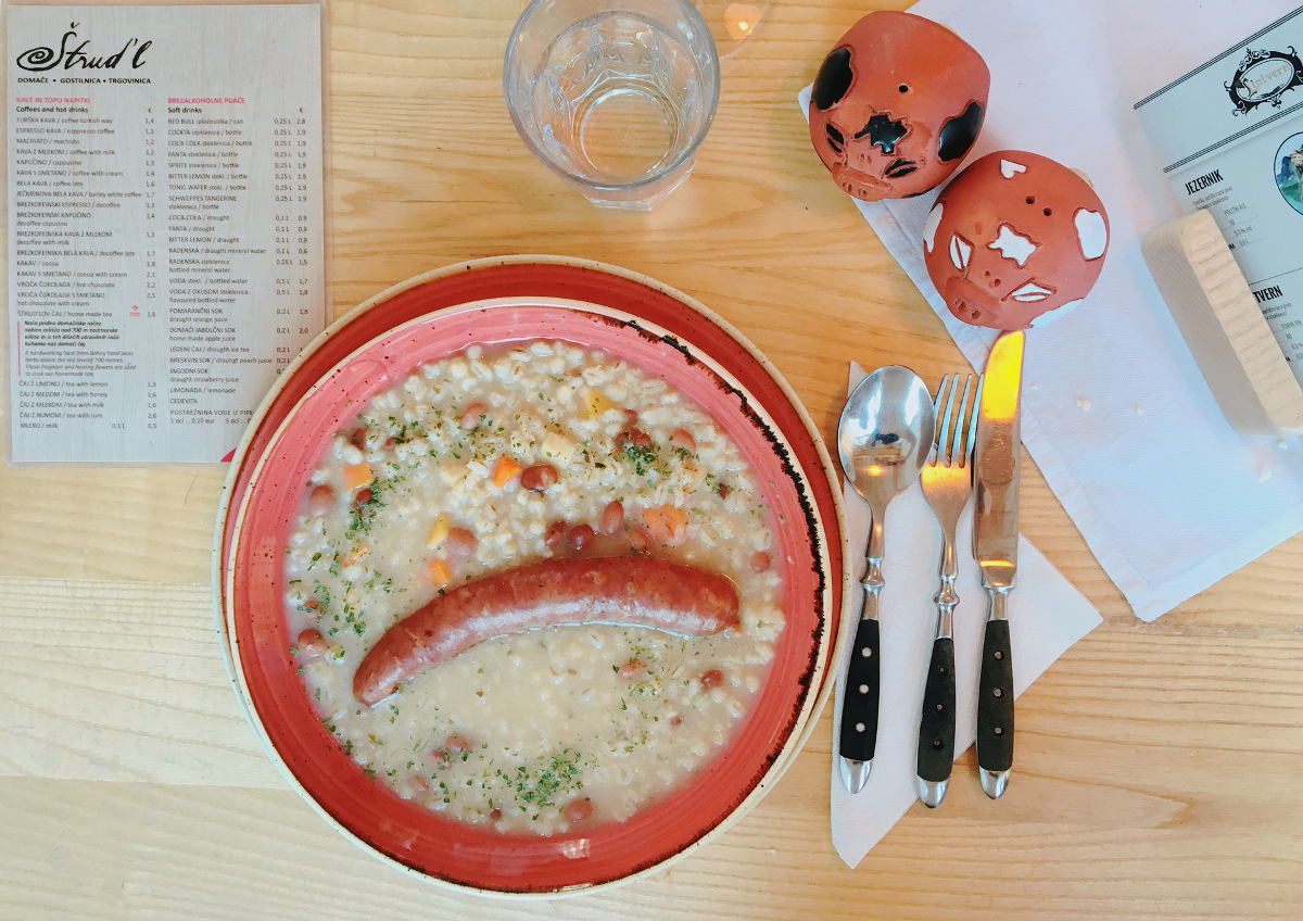 mangiare in Slovenia - Strud'l