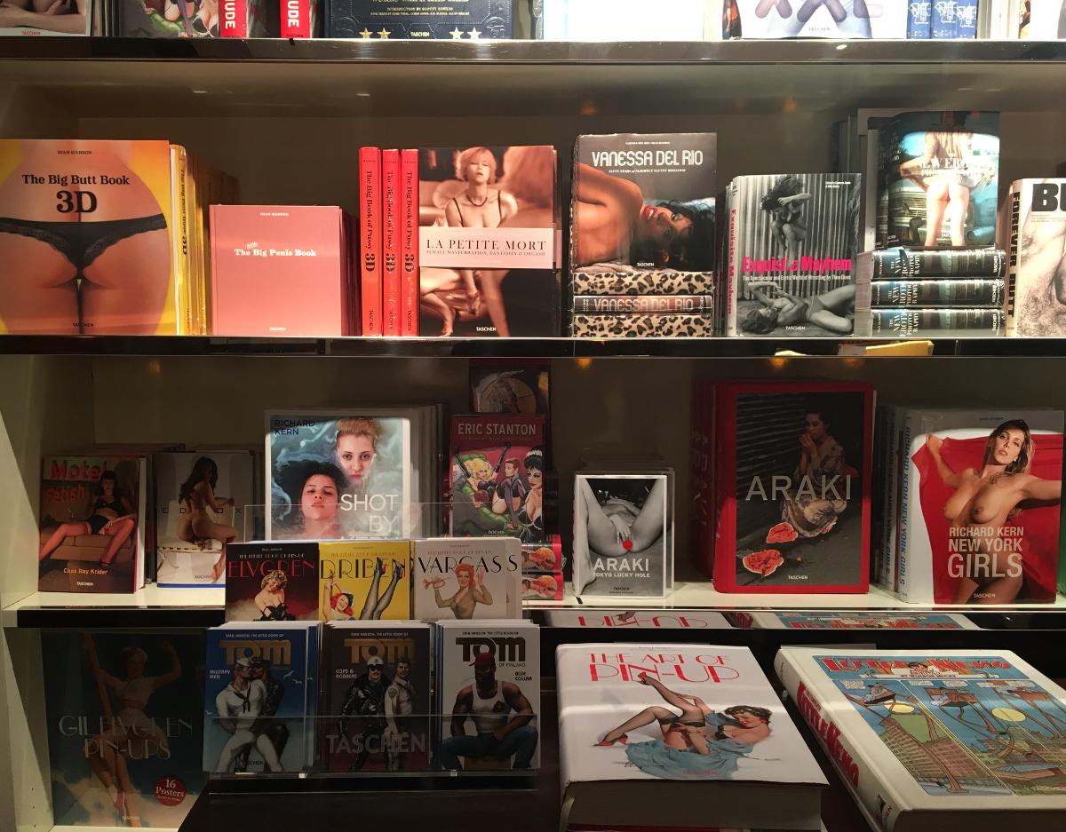 librerie a Parigi - Taschen