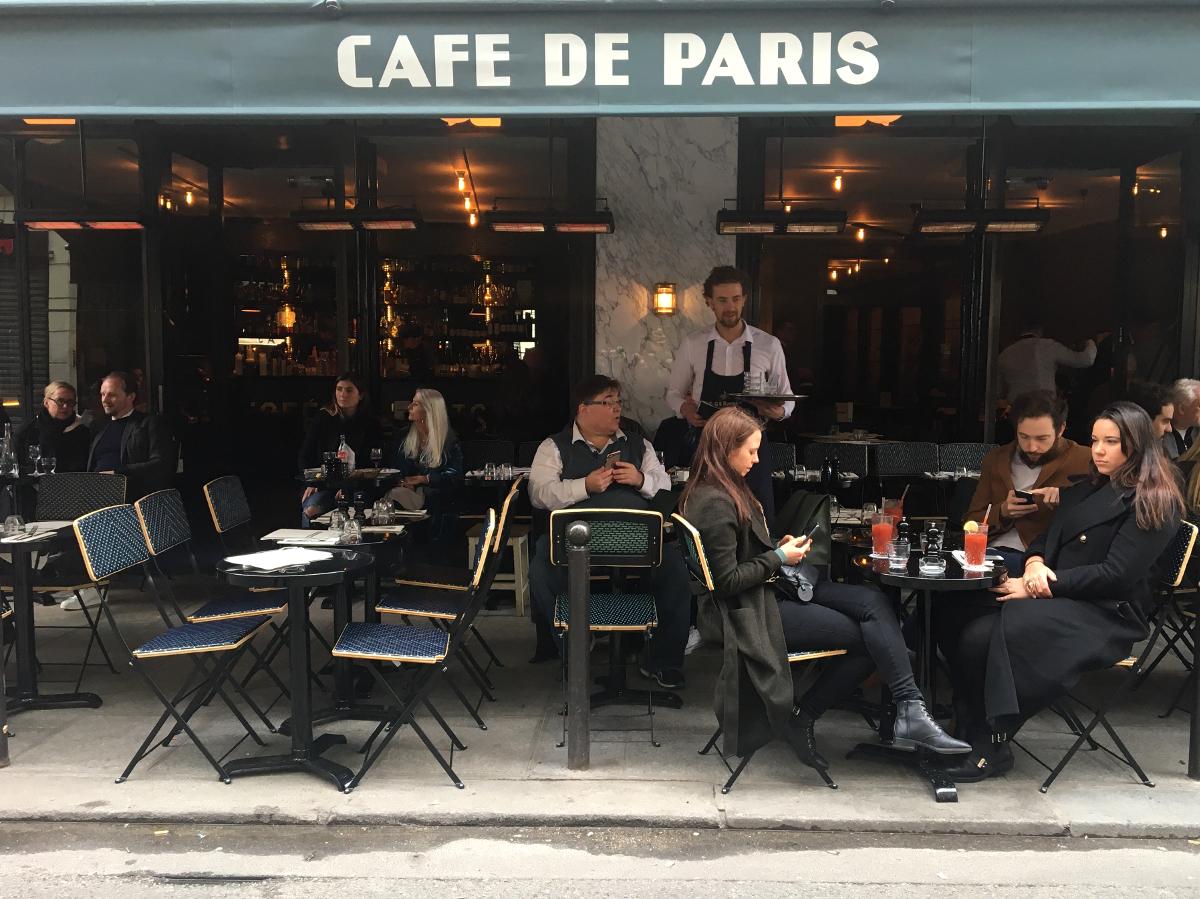 caffè a Parigi