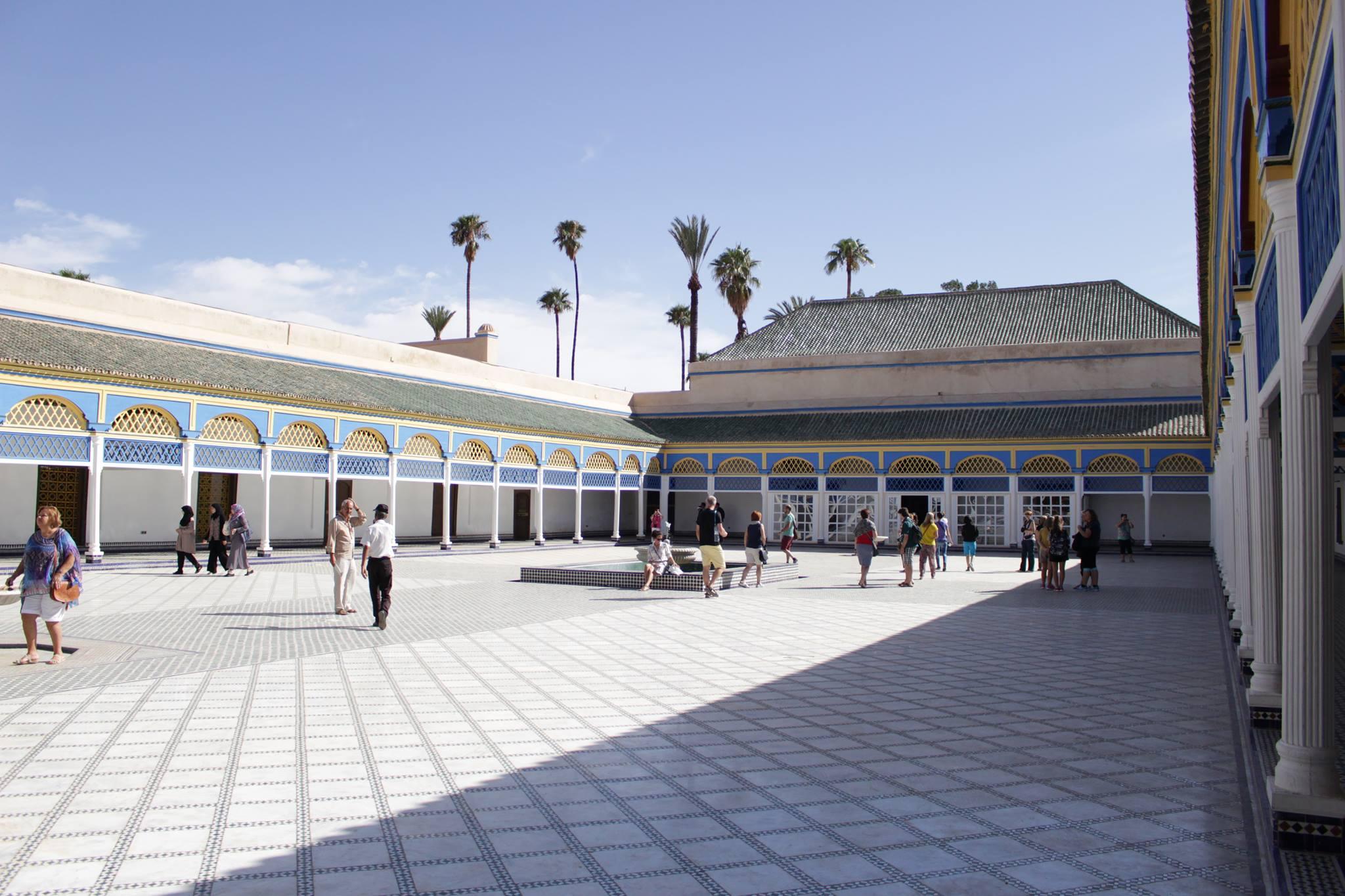 cosa vedere a Marrakech - bahia