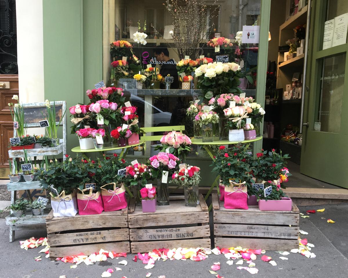 fiori a Parigi
