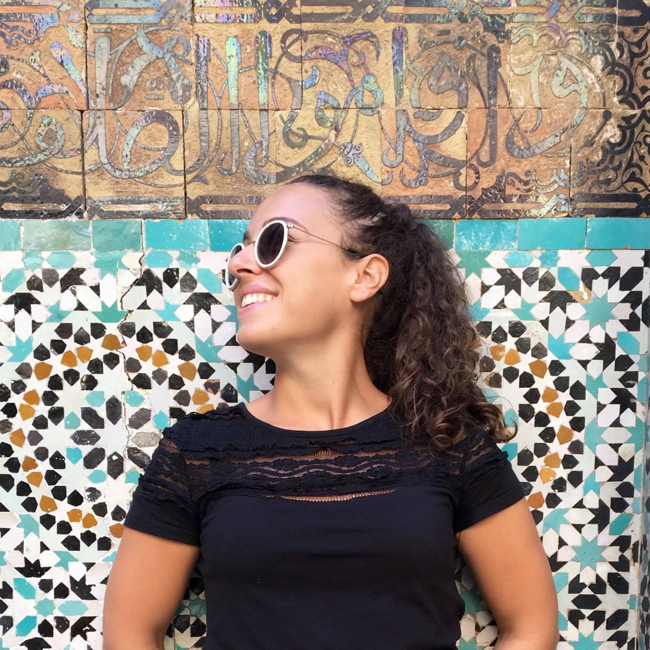 in solitaria in Marocco