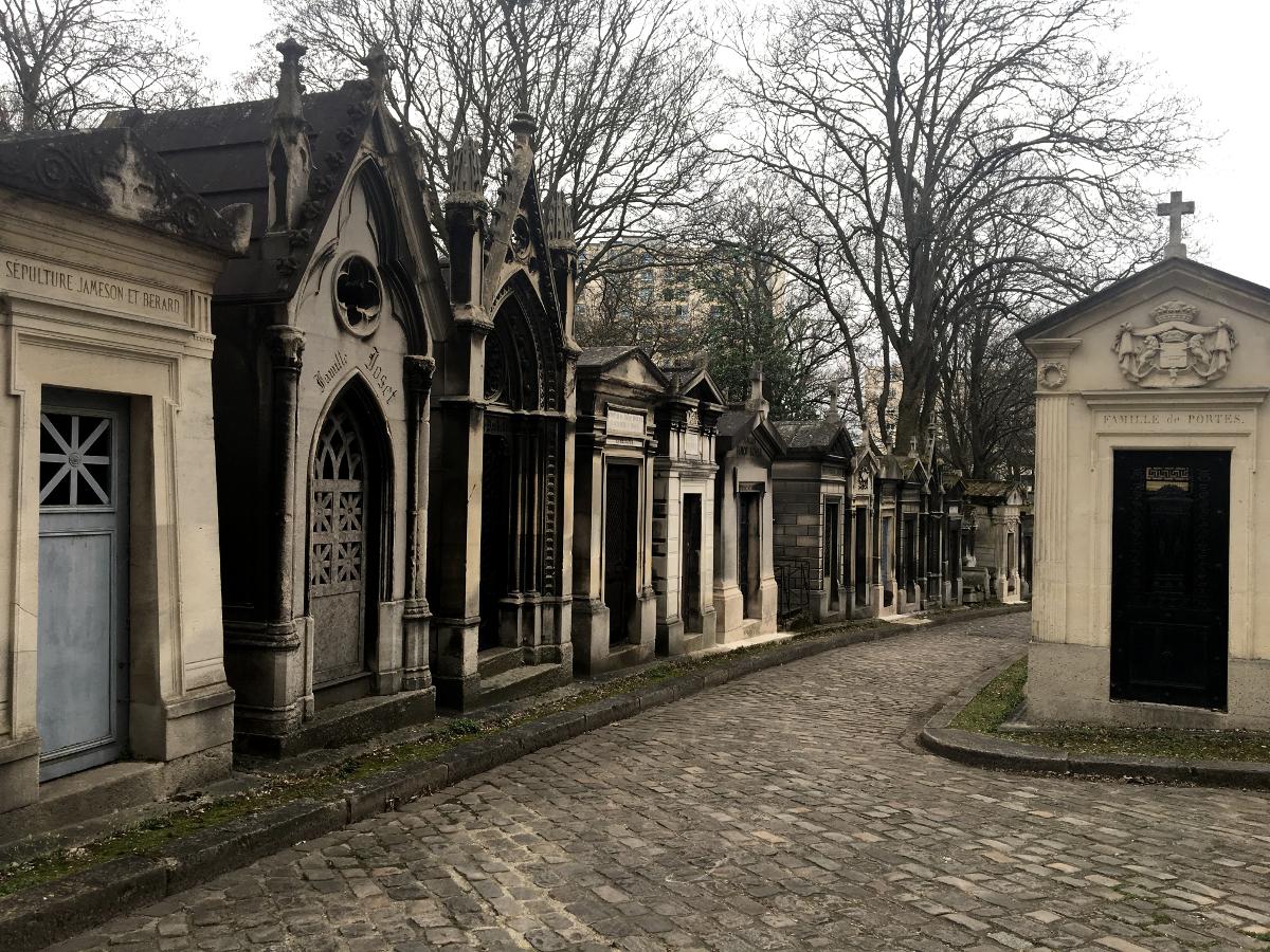 cosa fare gratis a Parigi: cimitero Pére - Lachaise