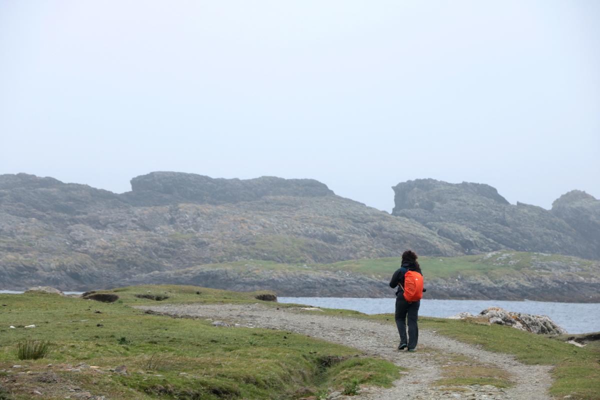 camminare Inishbofin Island