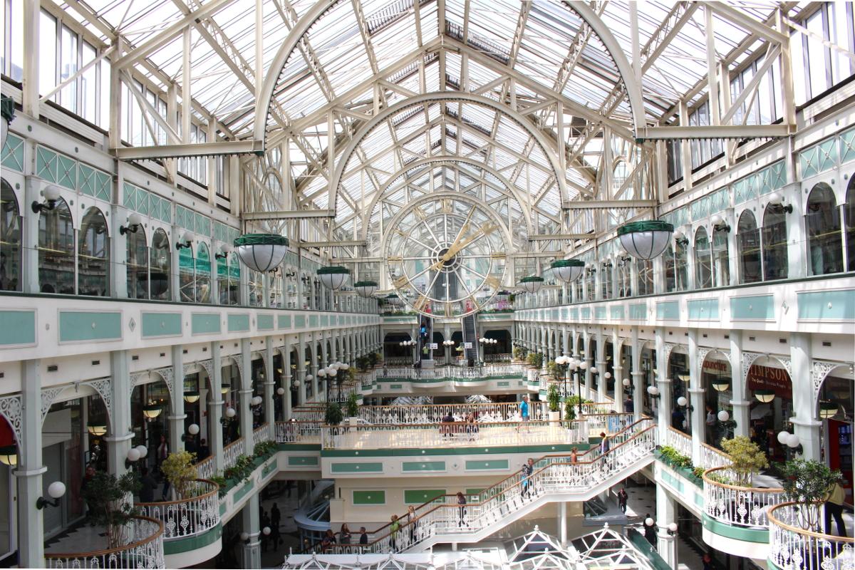 centro commerciale Grafton Street Dublino