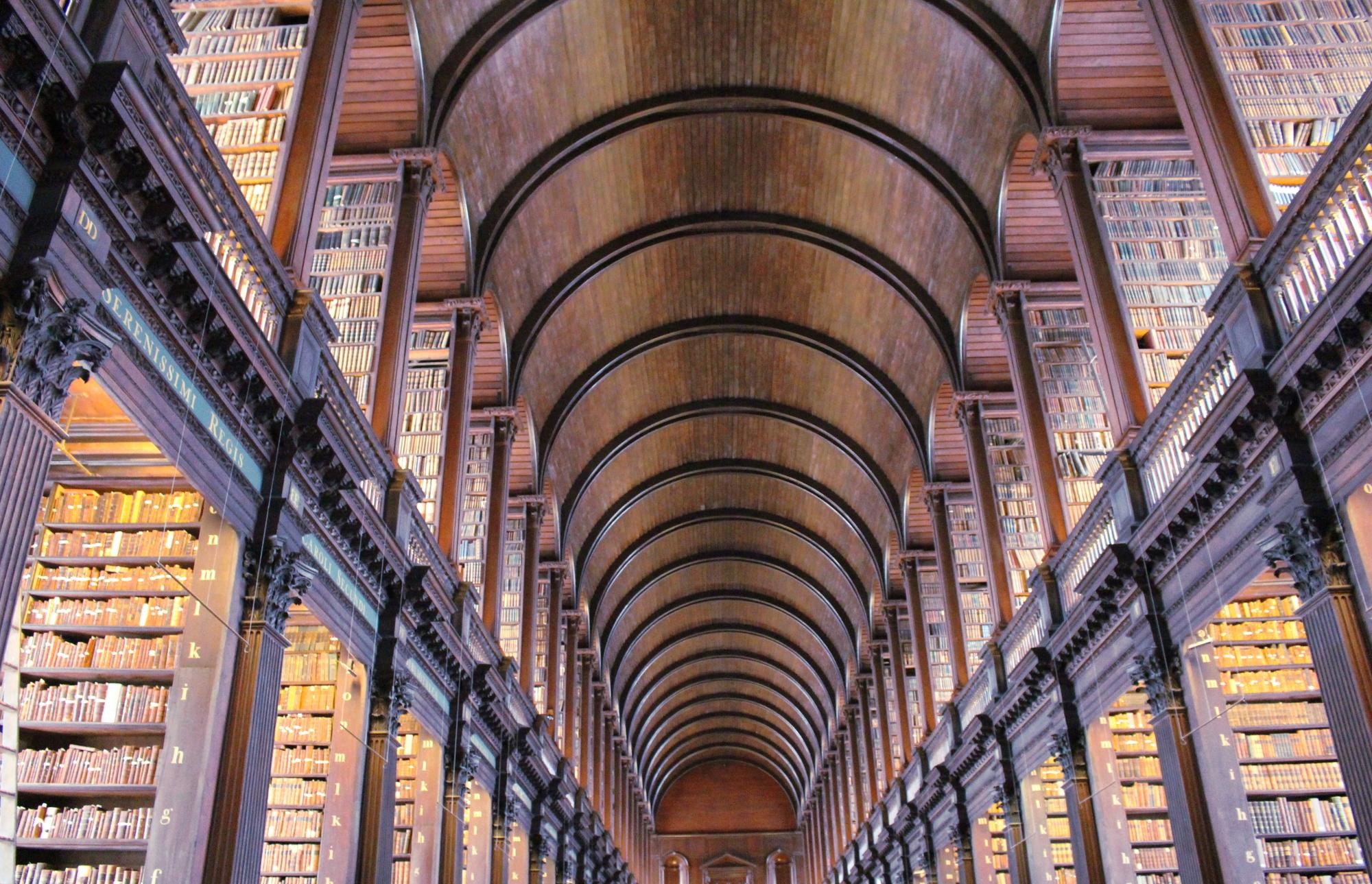 cosa vedere a Dublino in 2 giorni - Long Room