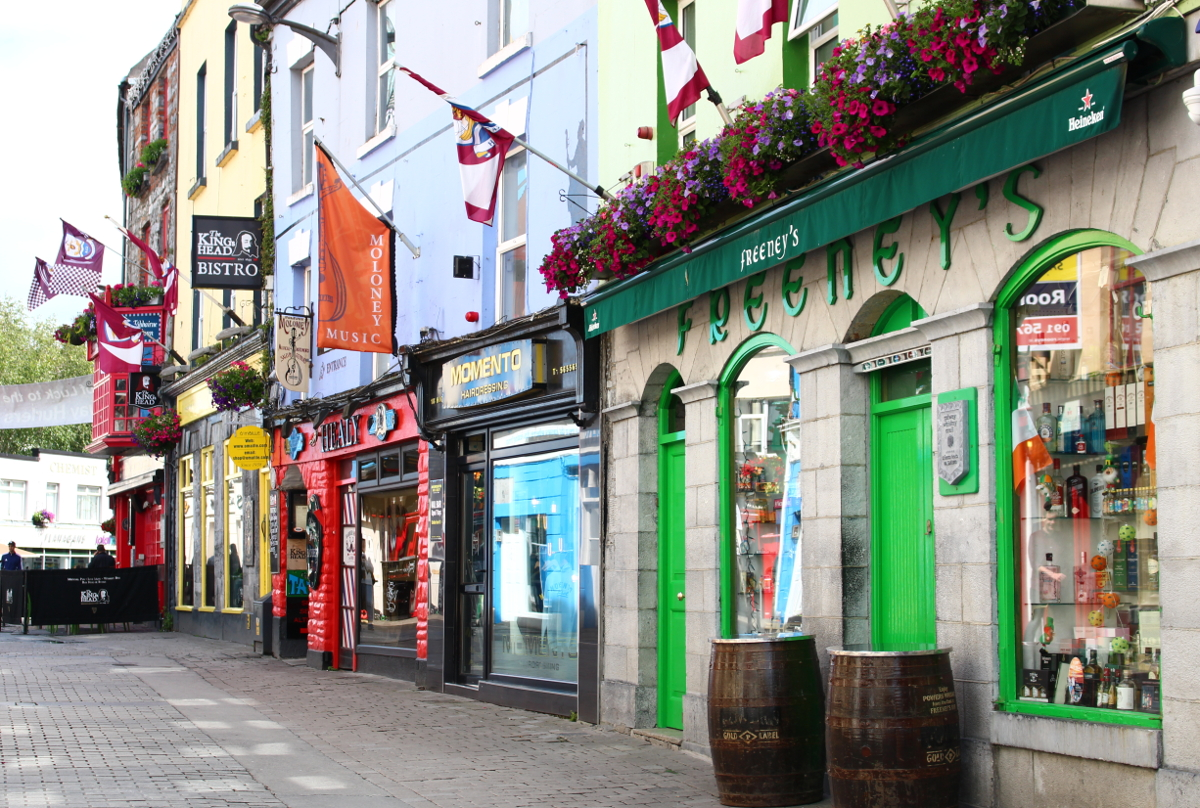 cosa vedere a Galway - centro