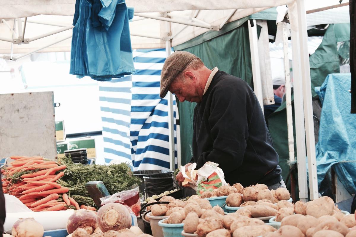 cosa visitare a Galway - mercato