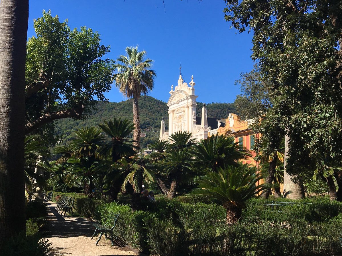 santa margherita ligure: giardino Villa Durazzo