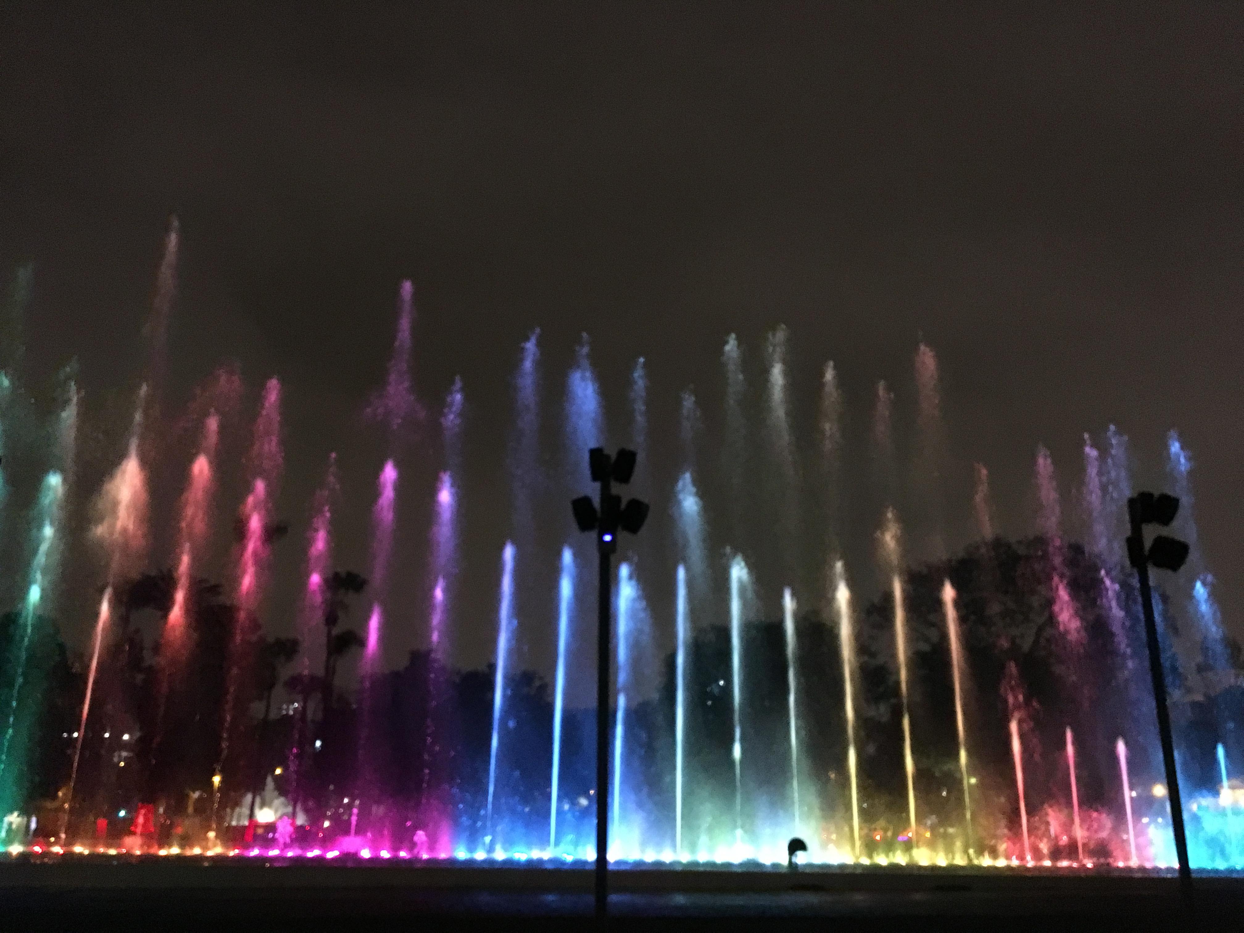 cosa fare a Lima - El Circuito Mágico del Agua