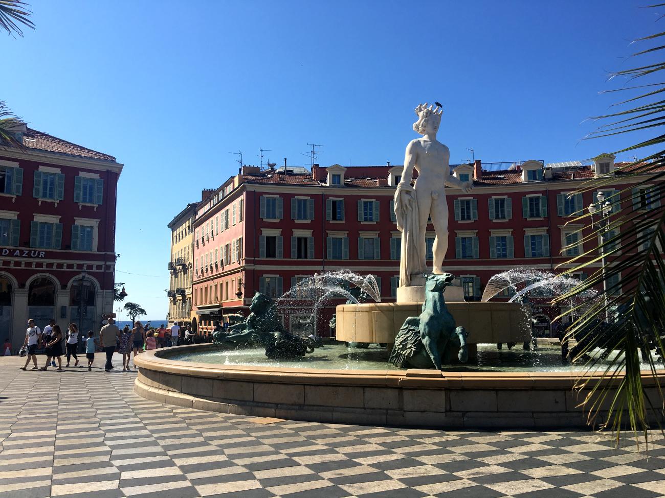 cosa vedere a Nizza - Place Massena