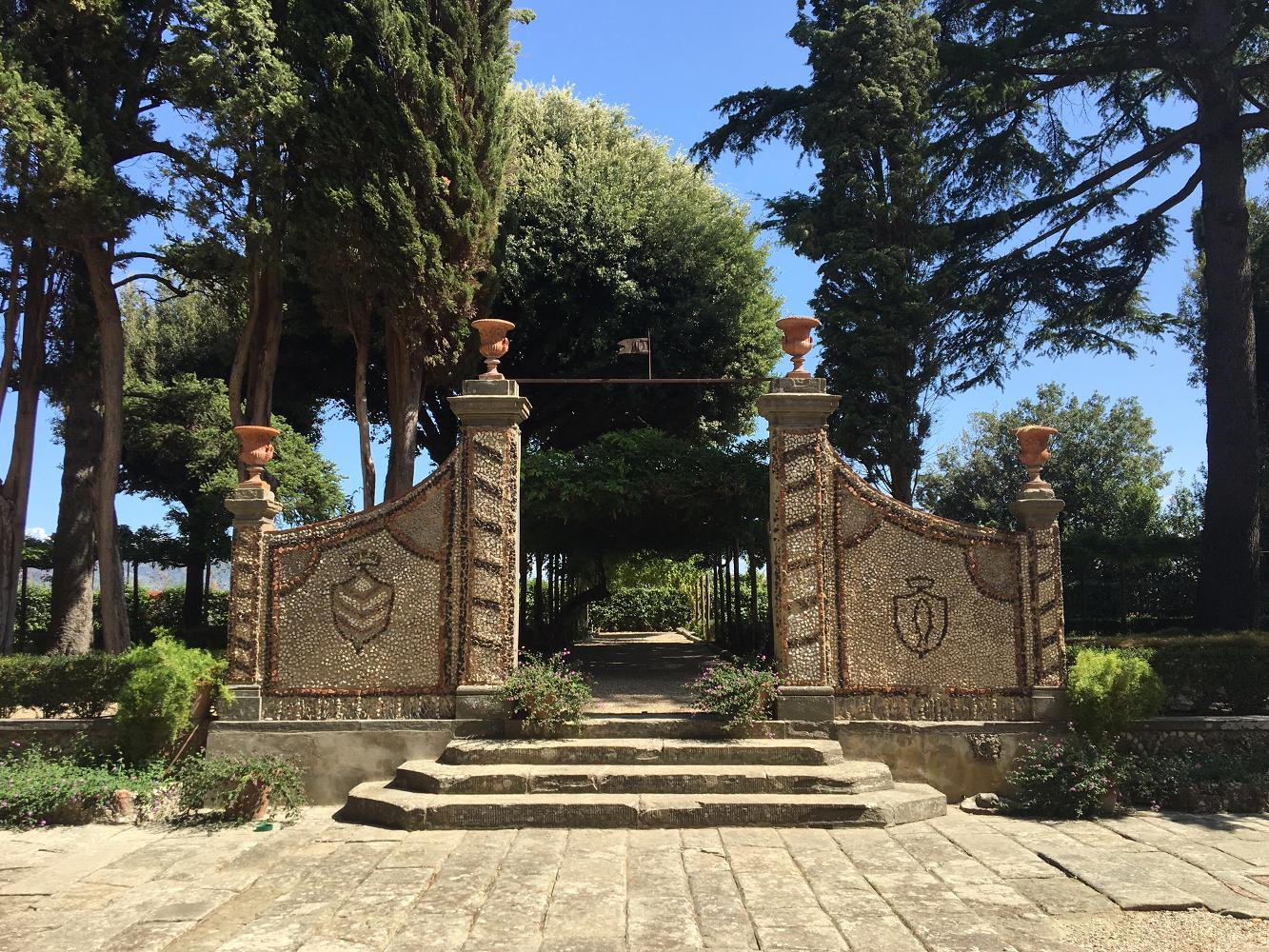 giardino villa medica cerreto guidi