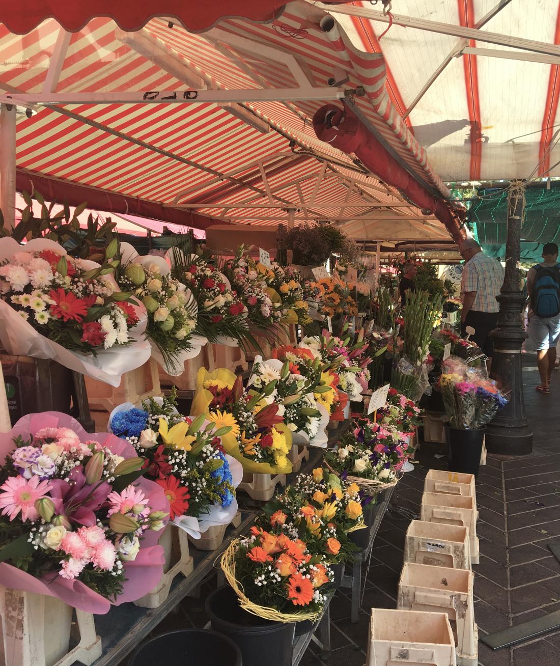 mercato dei fiori Nizza