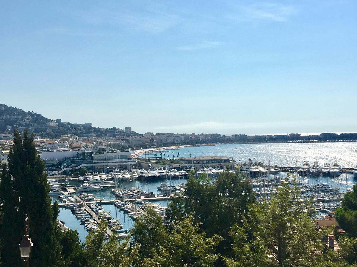 vista su Cannes