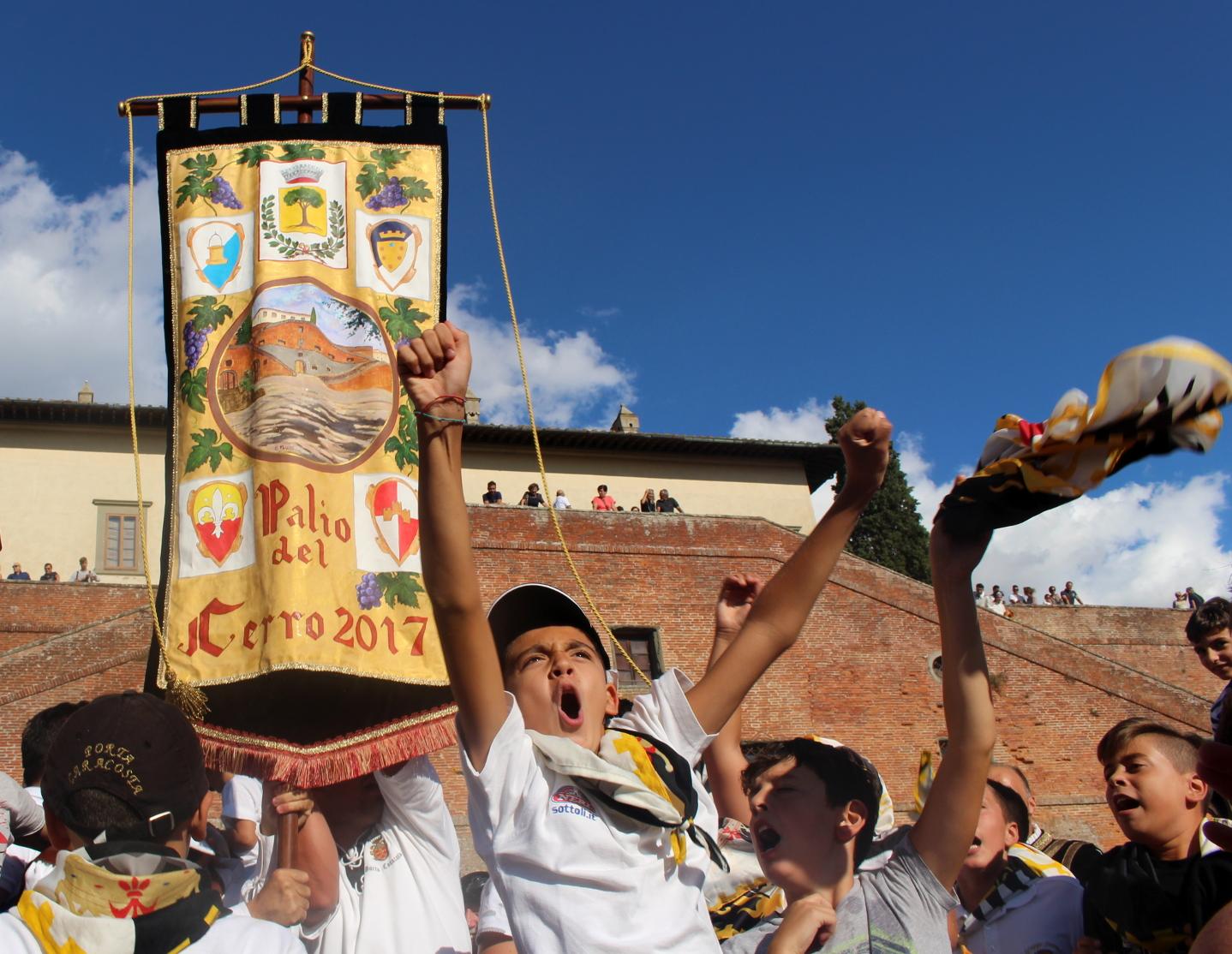 vittoria Caracosta Palio del Cerro