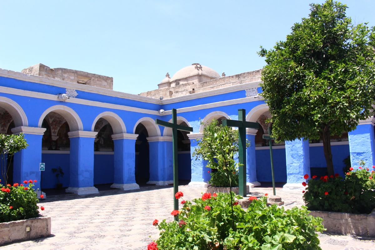 chiostro monastero santa catalina