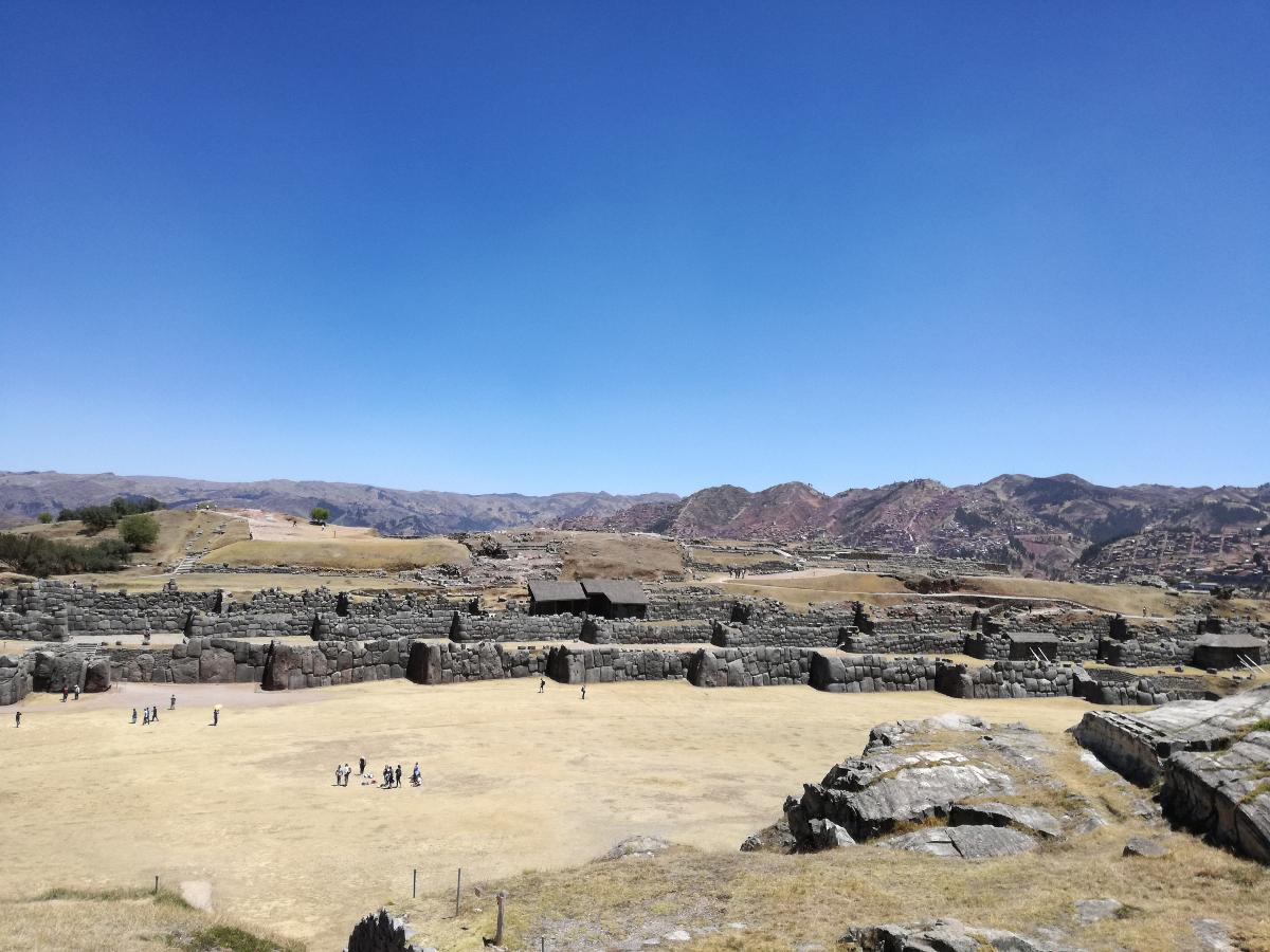 dintorni di Cusco Sacsayhuamán