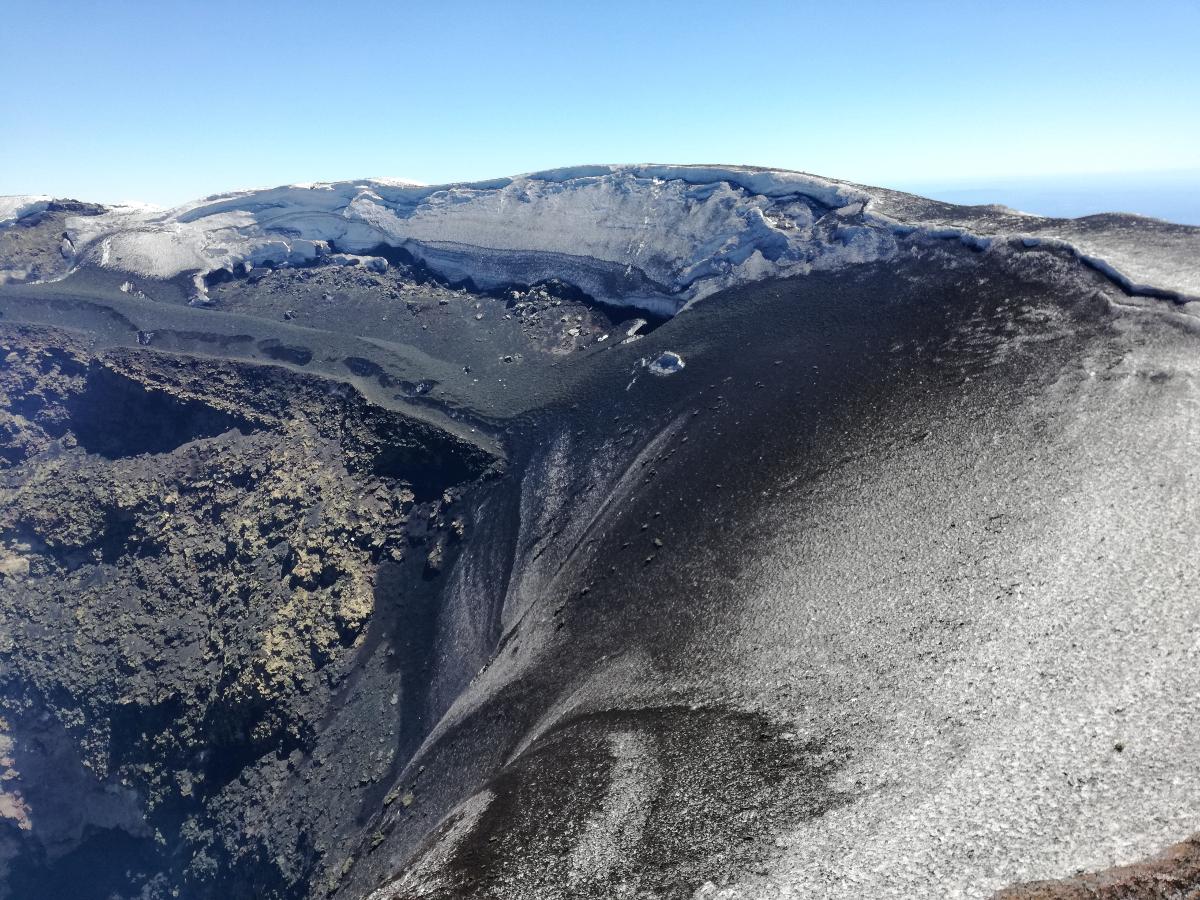 cratere vulcano villarrica