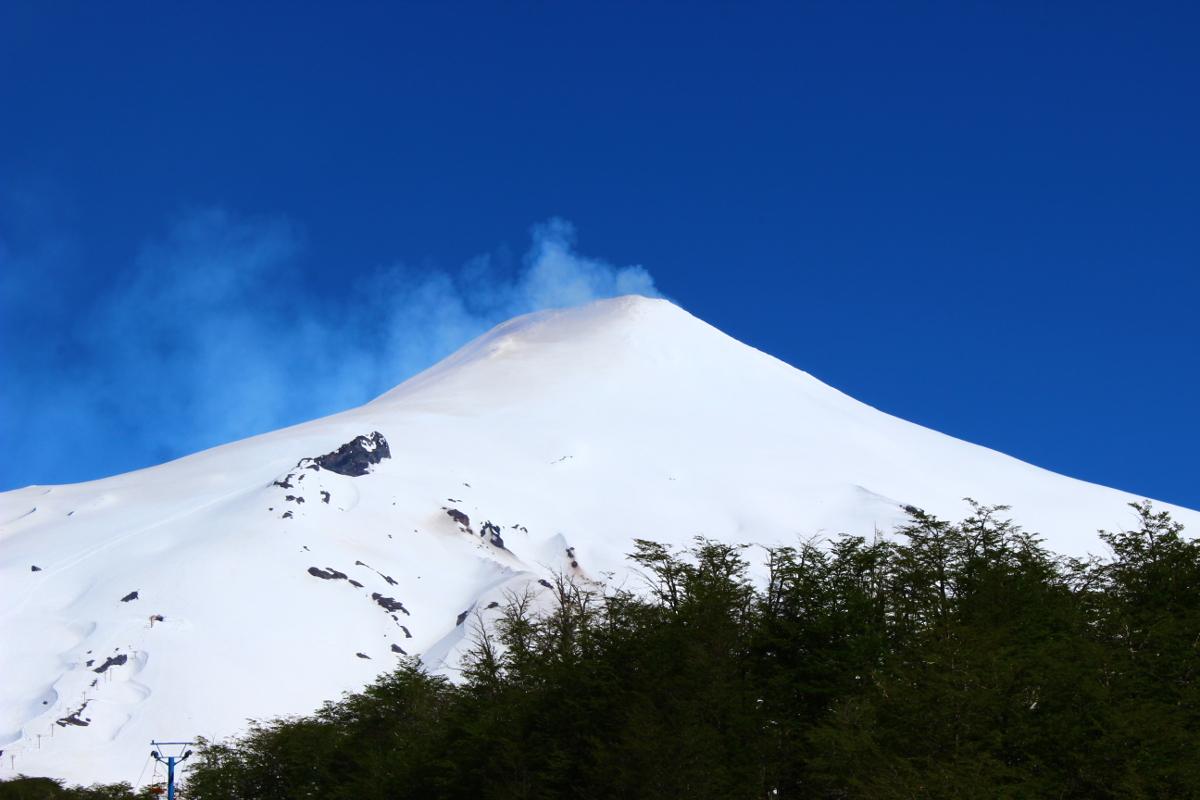 vulcano villarrica pucon cile