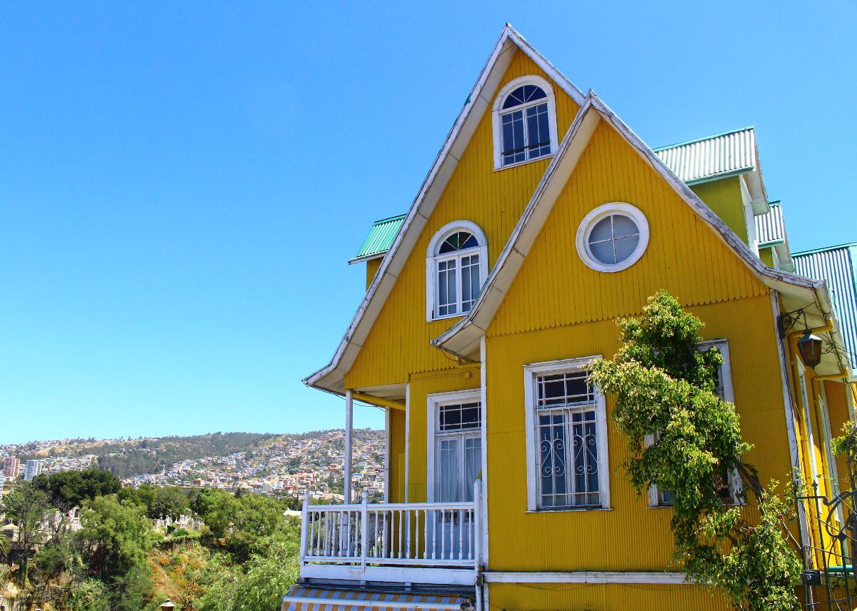 casa valparaiso cile