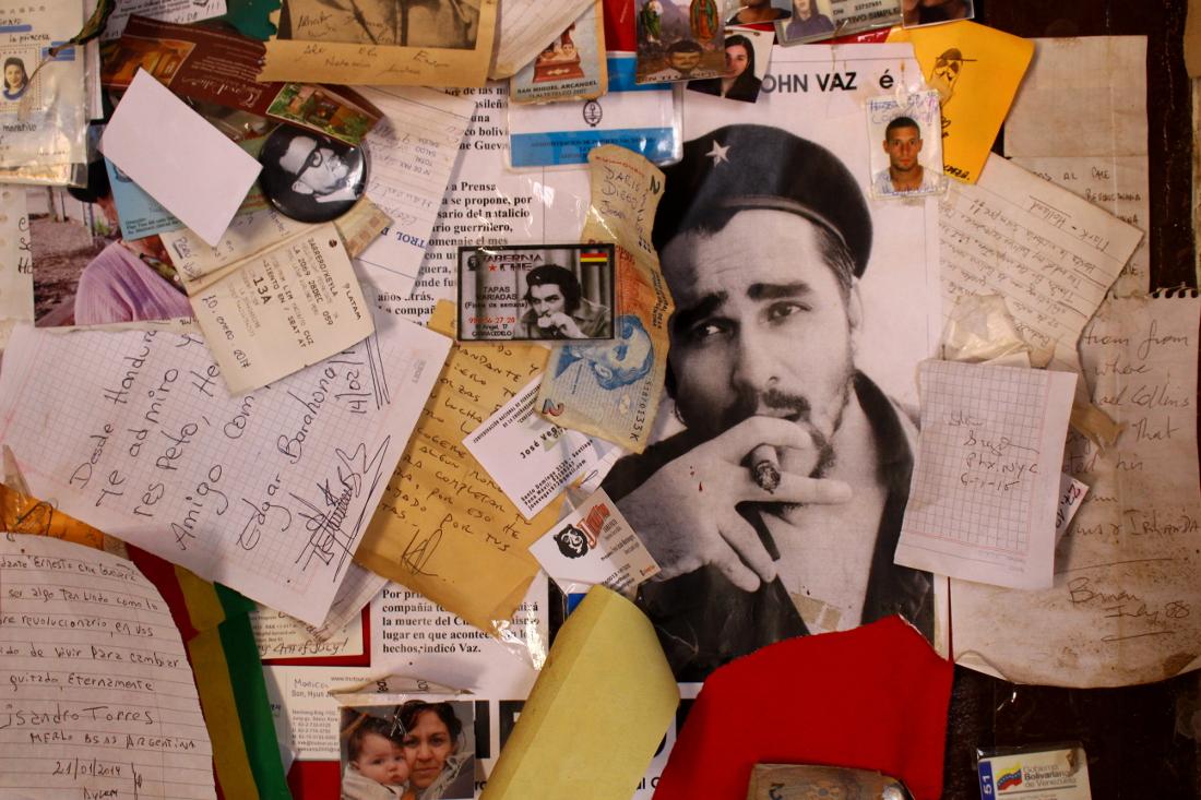 escuelita La Higuera tour ruta del Che