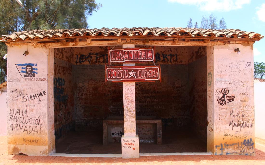 lavanderia corpo Che Vallegrande ruta del che