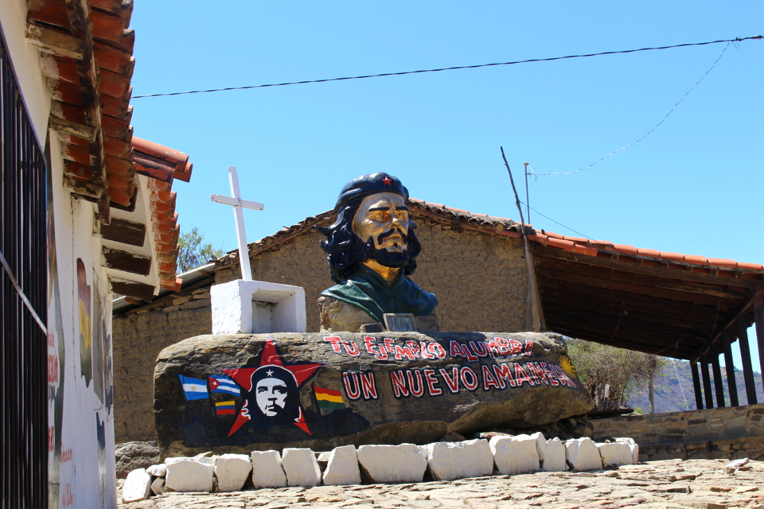 La Higuera tour ruta del Che