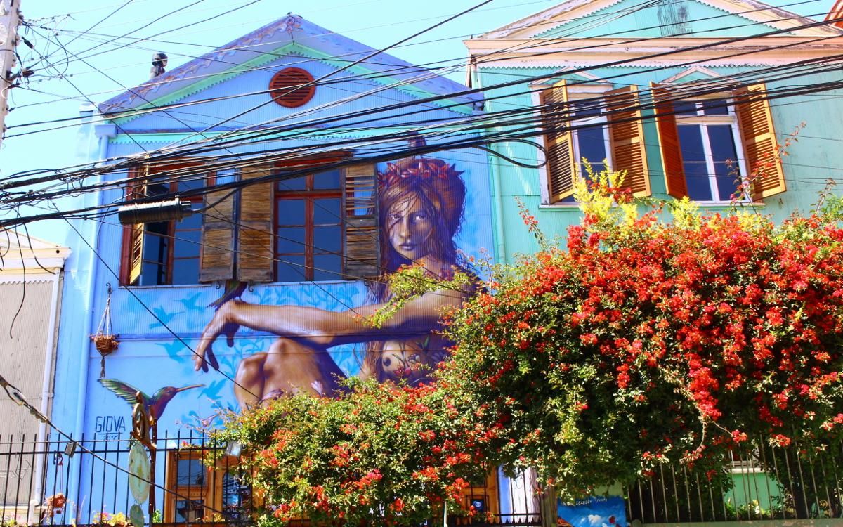 street art valparaiso cile