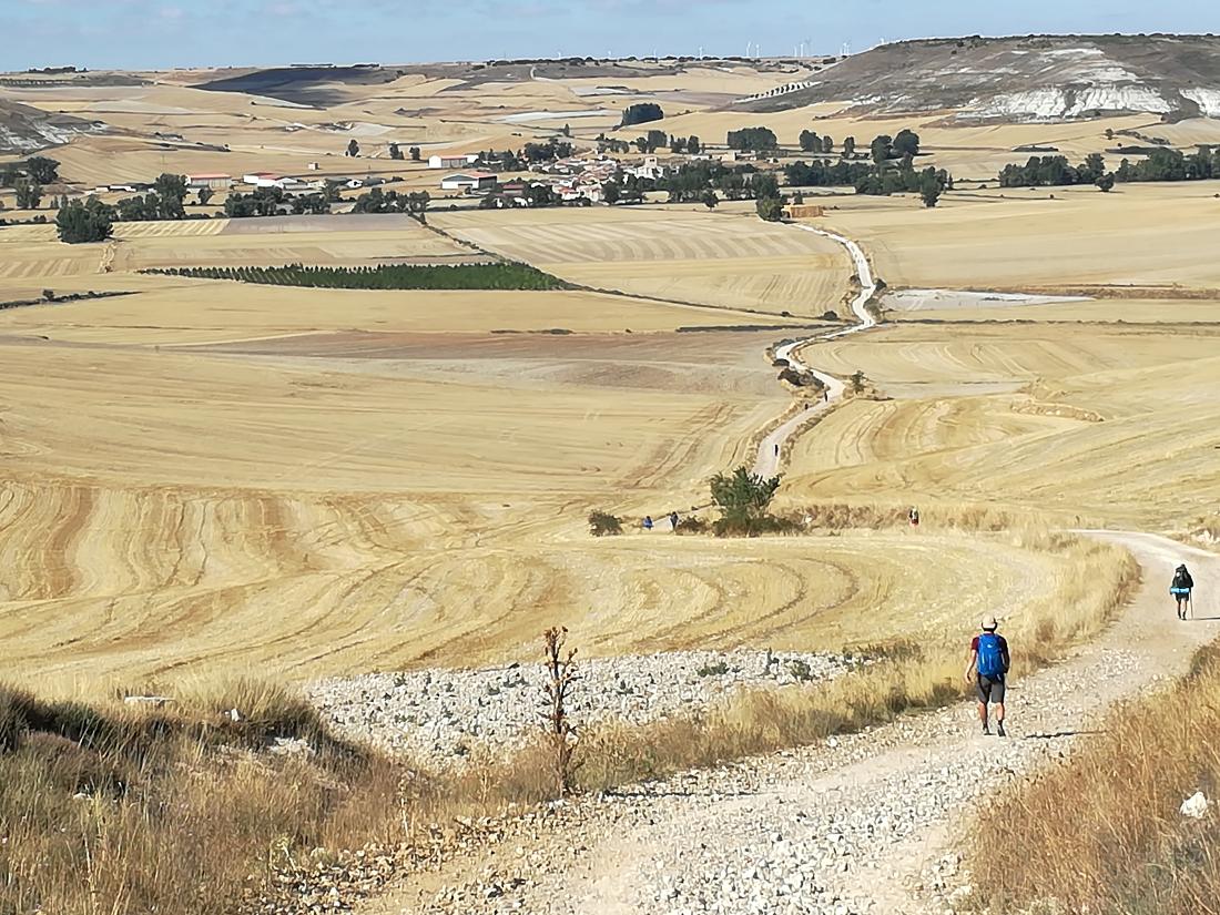 organizzare il cammino di santiago: percorso
