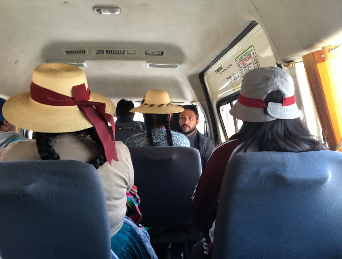 perù fai da te: spostarsi in combi
