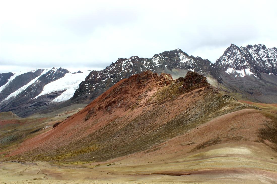 trekking rainbow mountain perù