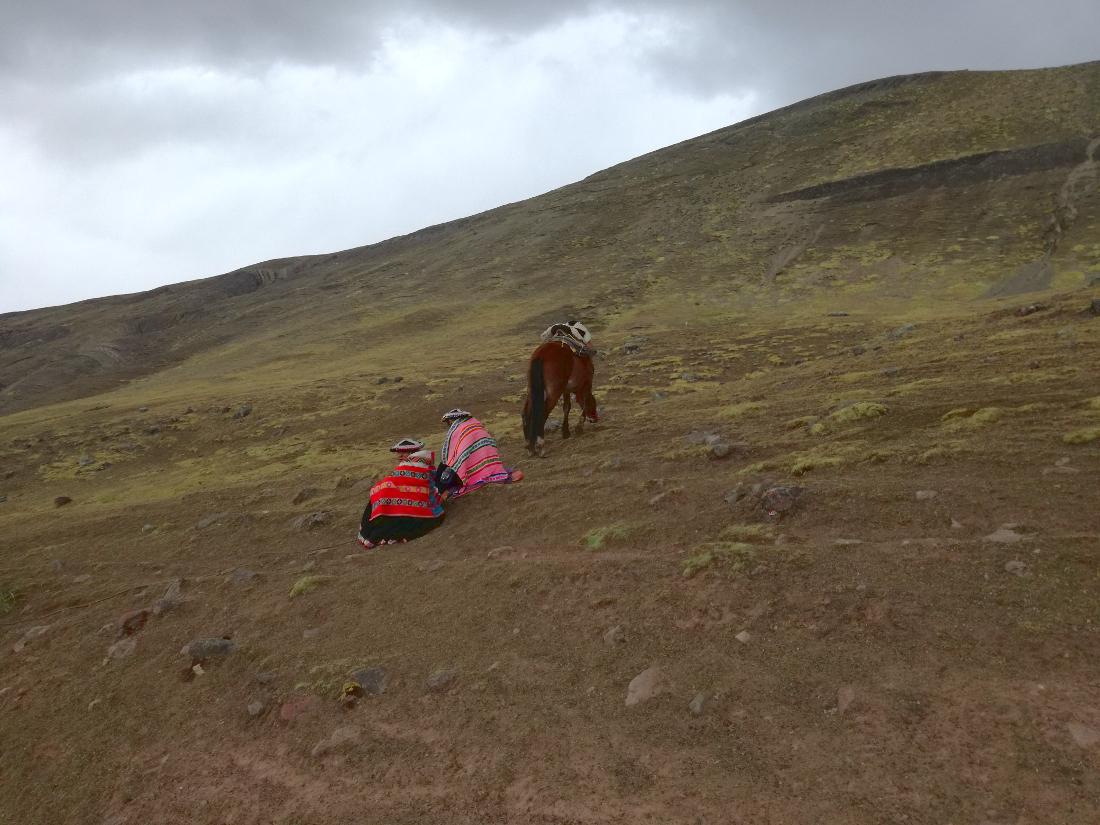 vinicunca mountain perù