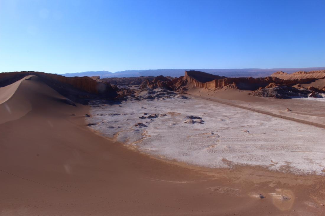 visitare san pedro de atacama: deserto valle della luna