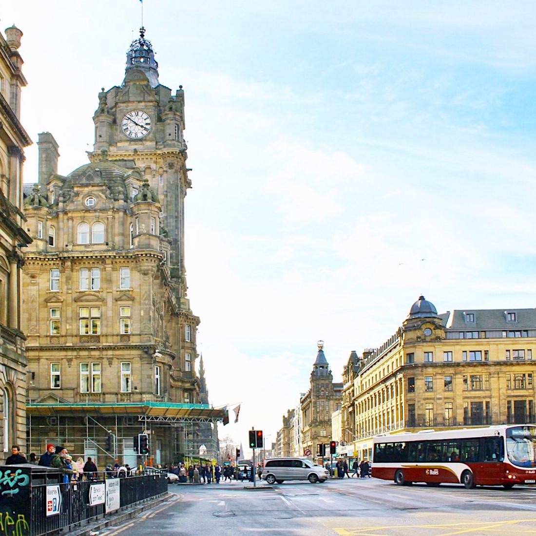 cosa vedere a Edimburgo in 3 giorni: balmoral hotel