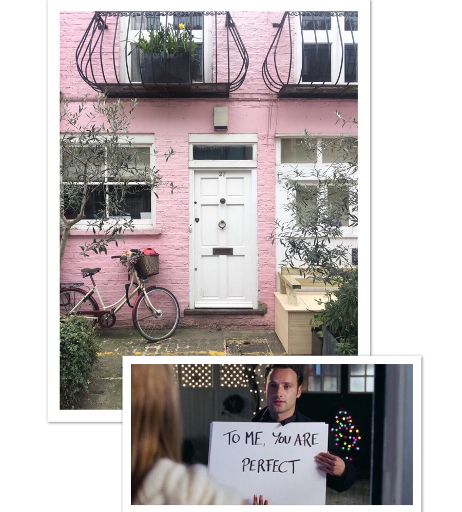 tour film girati a Londra Love Actually