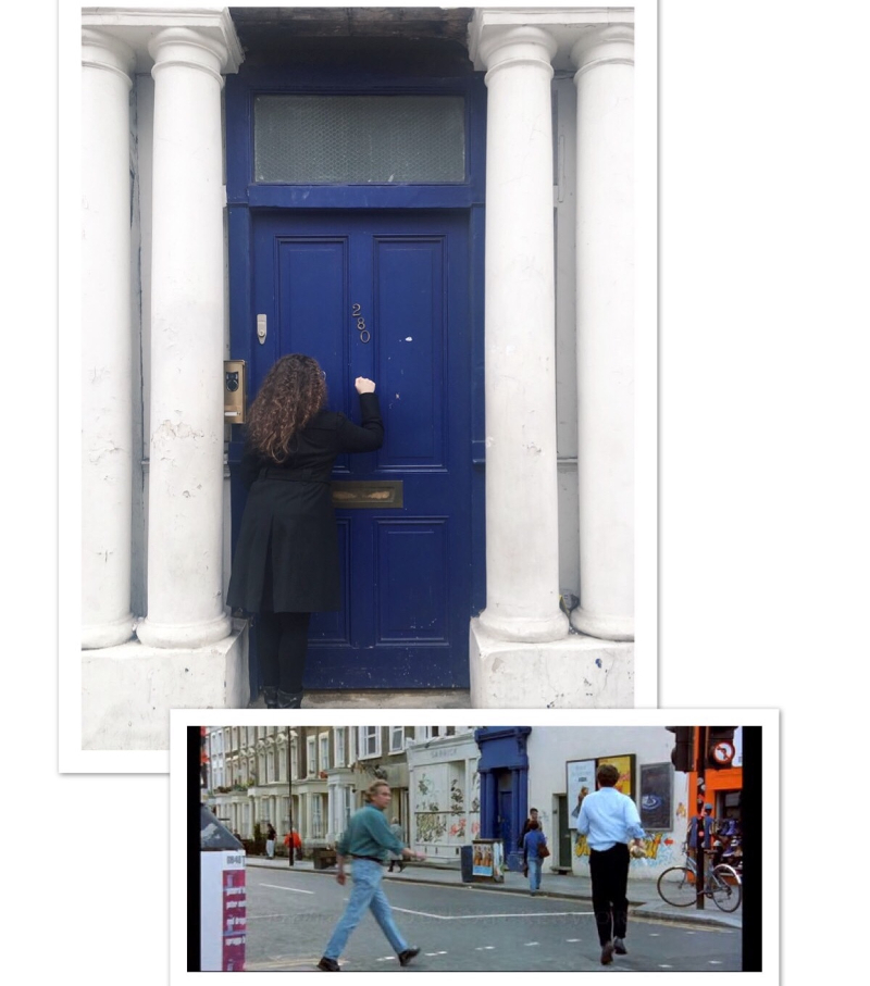 tour location notting hill porta blu londra