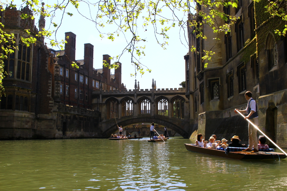 cosa vedere a Cambridge: bridge of sighs, ponte dei sospiri