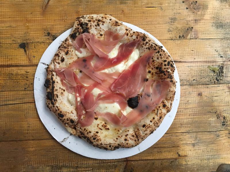 pizza londra mercato metropolitano