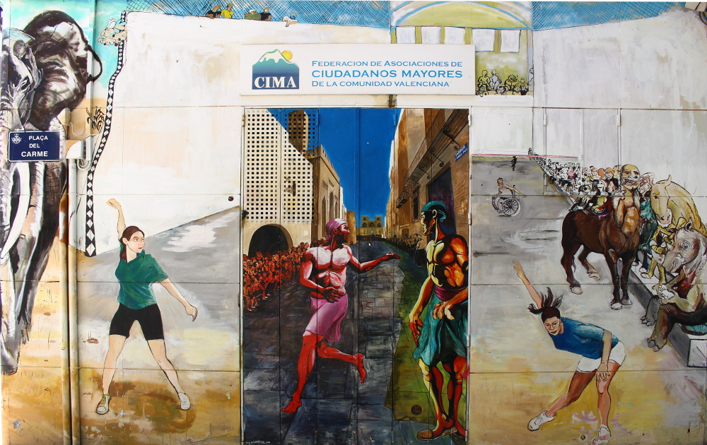 itinerario street art valencia