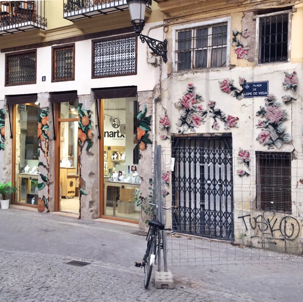 parete ricamata valencia