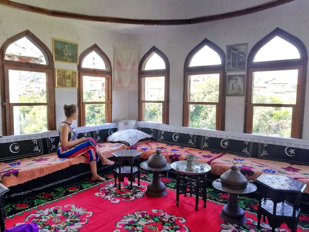 cosa vedere a Mostar: interno casa ottomana