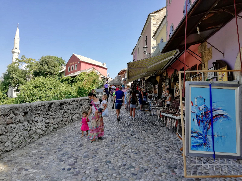 cosa vedere a Mostar: centro storico