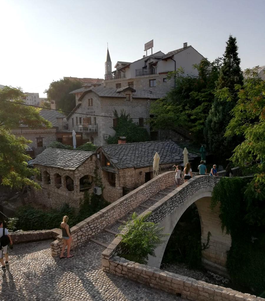 cosa vedere a Mostar: ponte storto