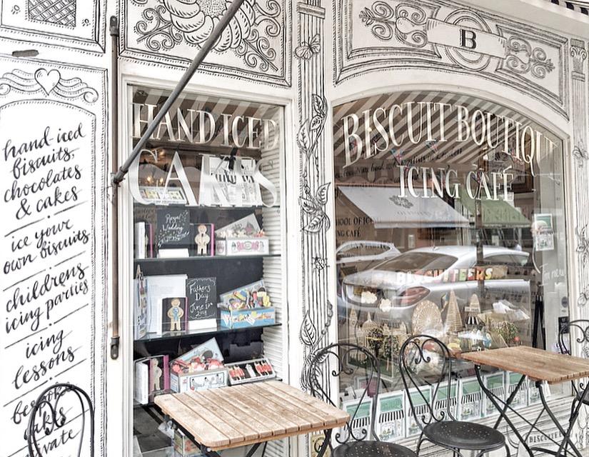 Luoghi instagerammabili a Londra dove mangiare: Biscuiteers
