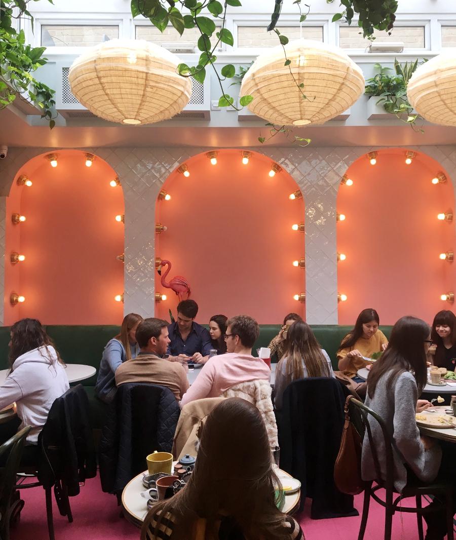 Luoghi instagerammabili a Londra dove mangiare. Farm Girl