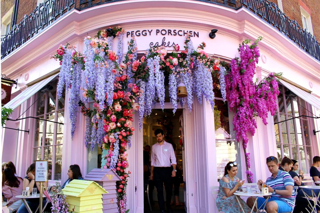 Luoghi instagerammabili a Londra dove mangiare: Peggy Porschen