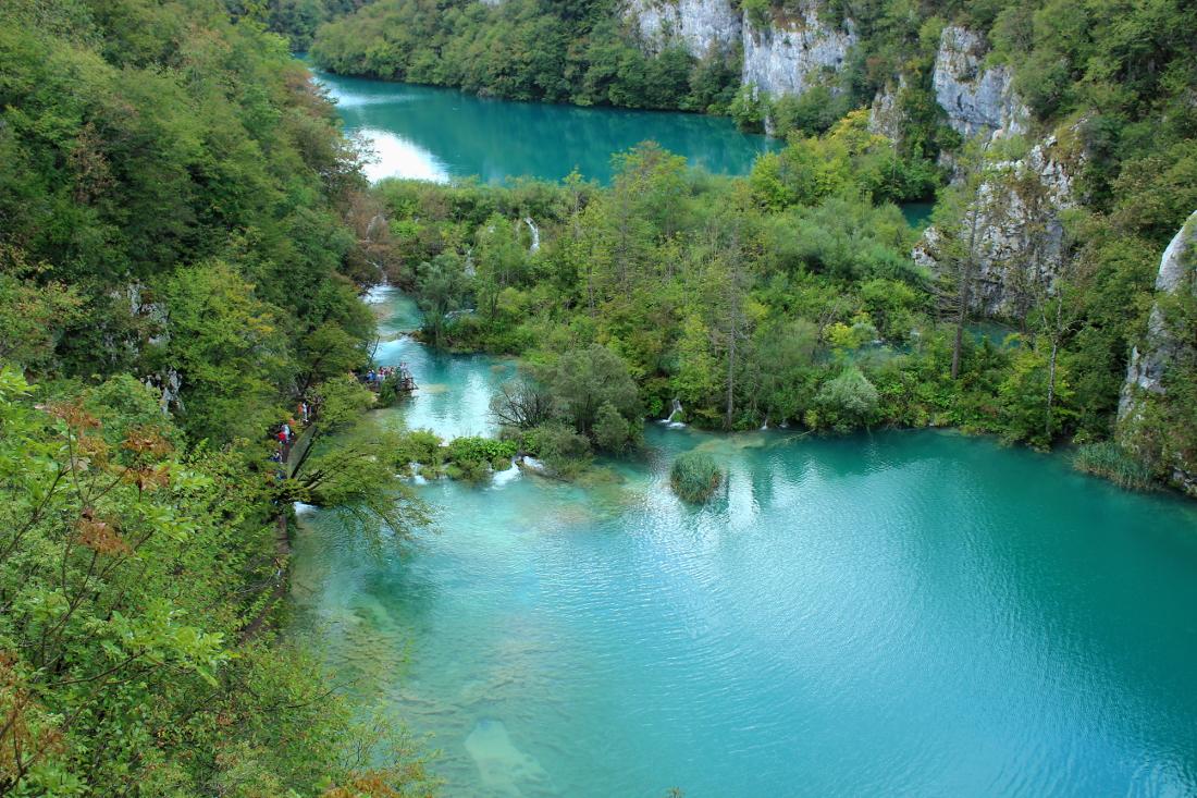 parco nazionale laghi di plitvice croazia