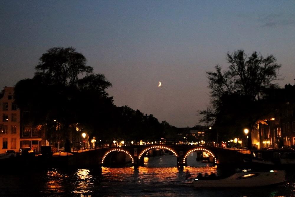 itinerario amsterdam di notte
