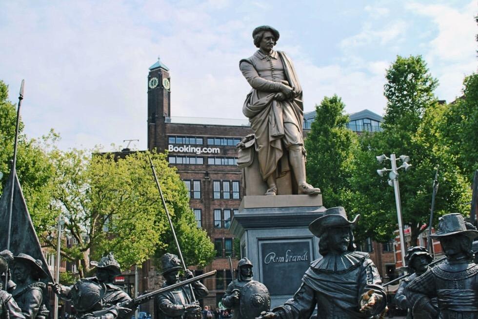 amsterdam in 4 giorni: rembrandtplein
